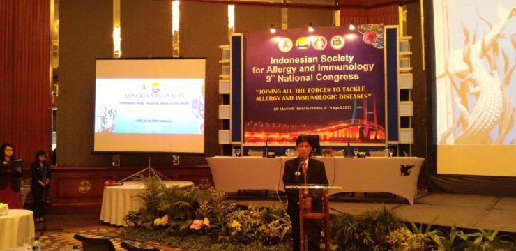 Kongres Nasional ke-IX Perhimpunan Alergi-Imunologi Indonesia